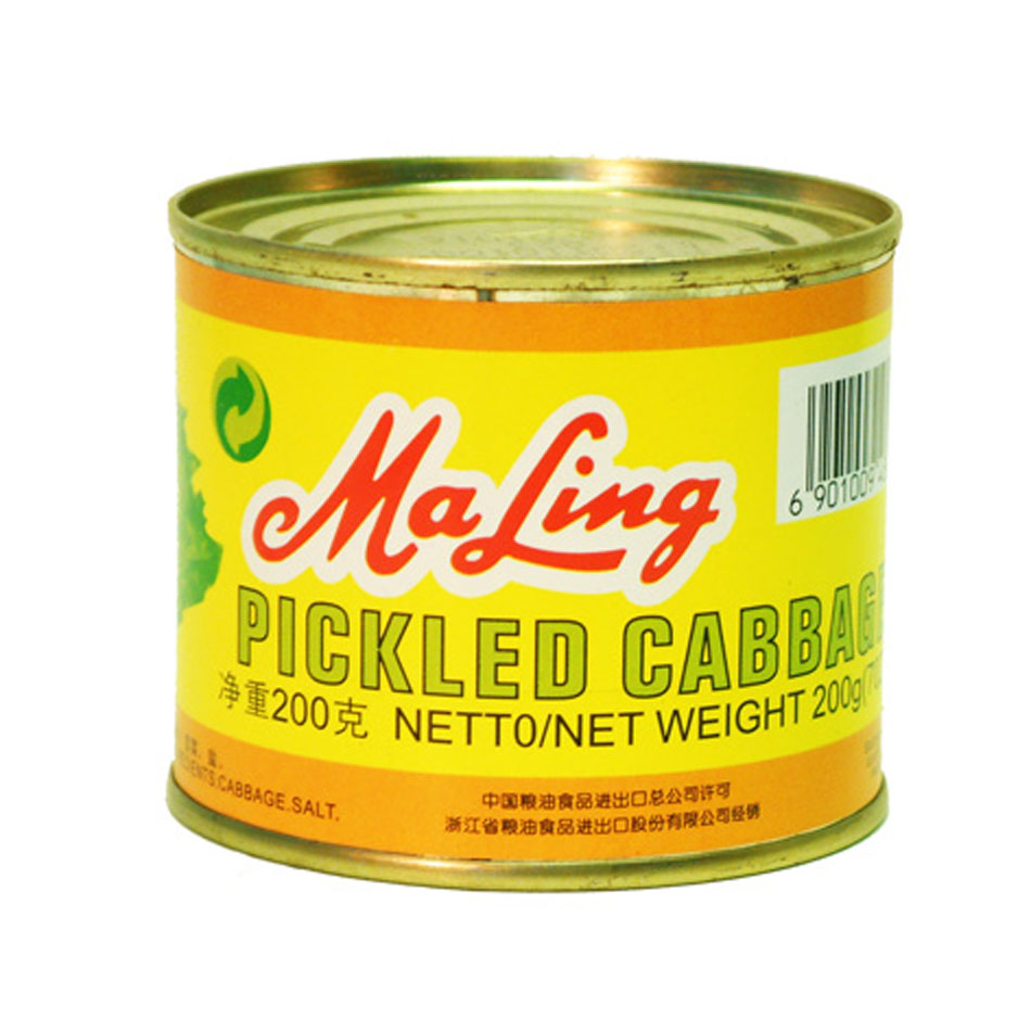 Ma Ling Pickled Cabbage