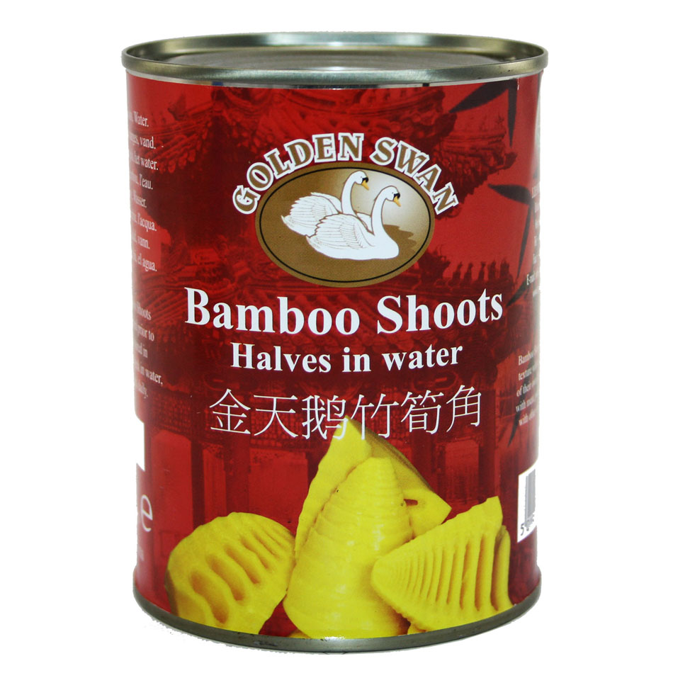 Golden Swan Bamboo Shoot Halves