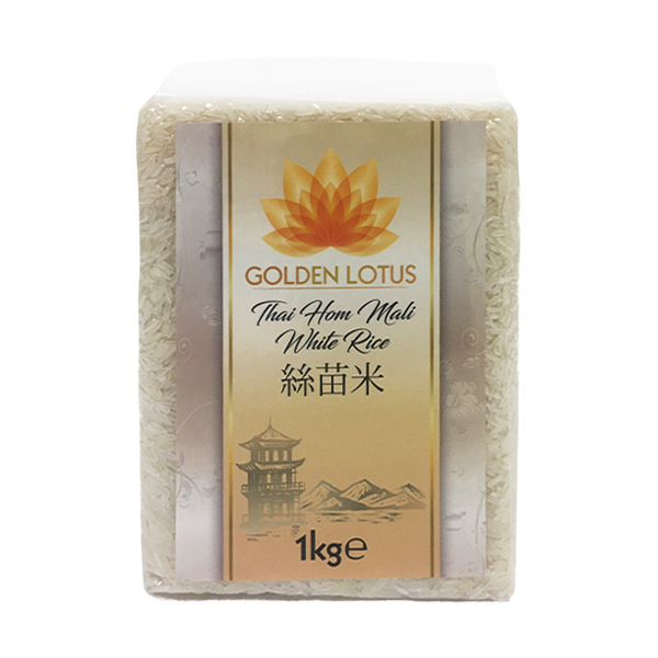 Golden Lotus Thai Hom Mali White Rice