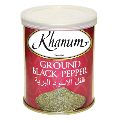 Khanum Ground Black Pepper