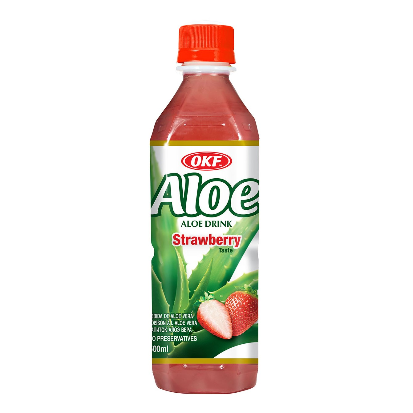 Okf Aloe Vera Ls Strawberry