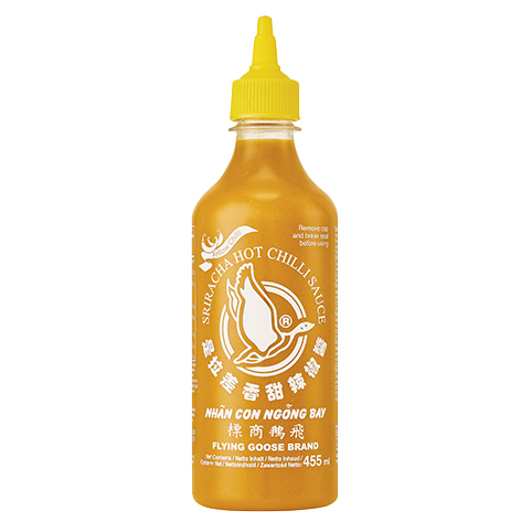 Flying Goose Hot Chilli Sauce (Yellow)