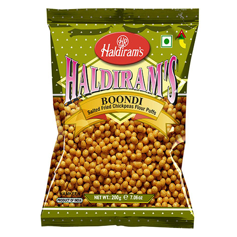 Haldirams Boondi Salted Fried Chickpea Flour Puffs