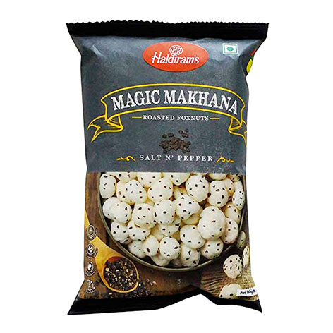 Haldirams Roasted Foxnuts Salt N Pepper