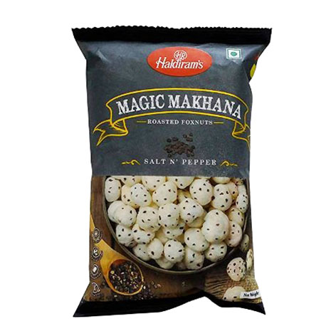 Haldirams Roasted Foxnuts Simply Salted