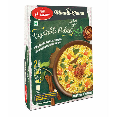 Haldirams Vegetable Pulao