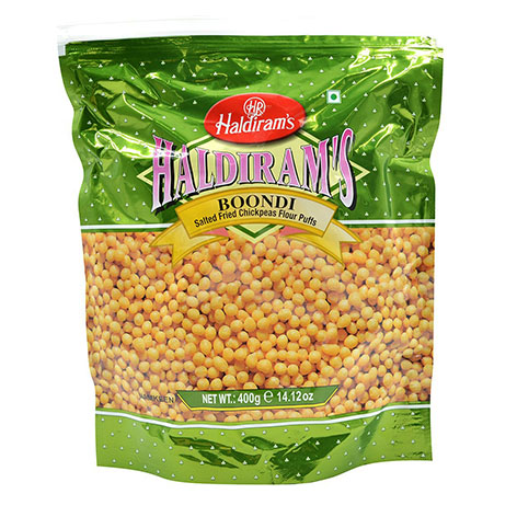 Haldirams Boondi Masala Spicy Fried Chickpea Flour Puffs