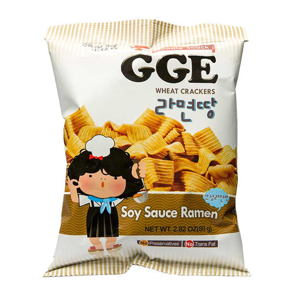 GGE Ramen Snack (Soy Sauce Flavour)
