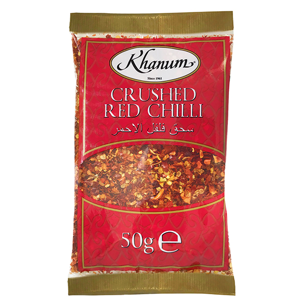 Khanum Crushed Red Chilli