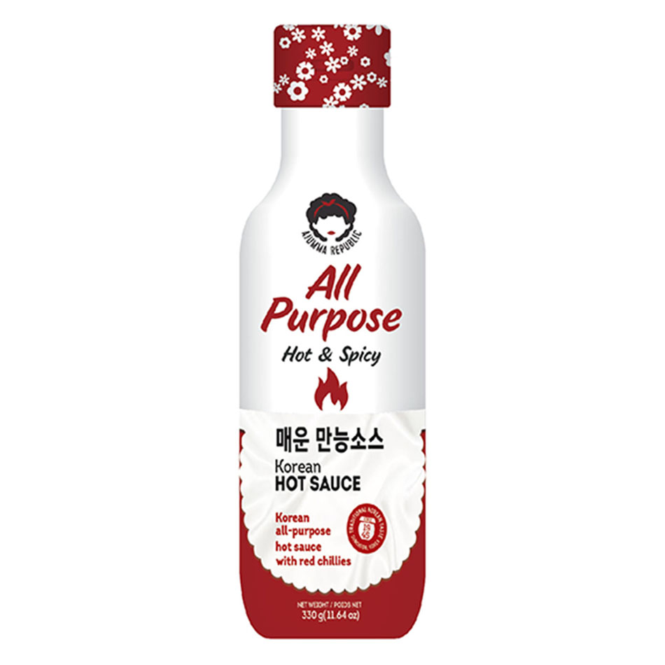 Ajumma Republic All Purpose Korean Hot Sauce