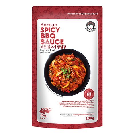 Ajumma Republic Spicy BBQ Sauce