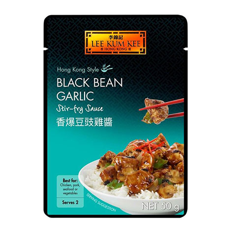 Lee Kum Kee Black Bean Garlic Stir Fry Sauce