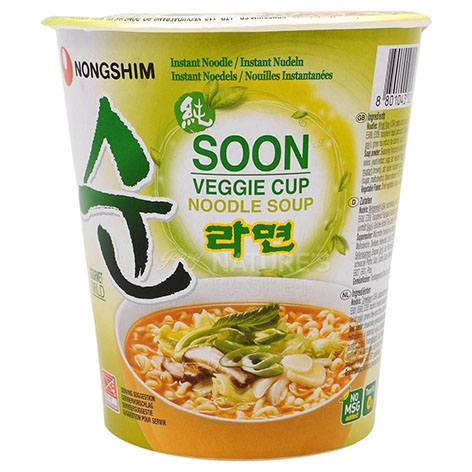 Nongshim Oolongmen Vegetable Noodles