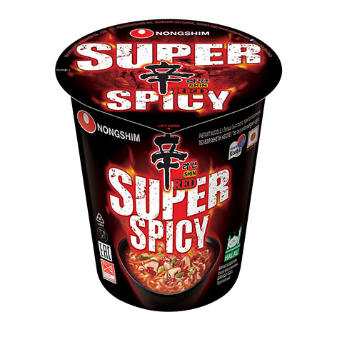 Nongshim Shin Cup Red Super Spicy