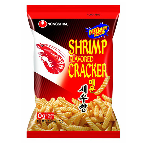 Nongshim Shrimp Crackers Hot