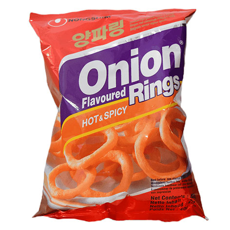 Nongshim Onion Rings Hot & Spicy