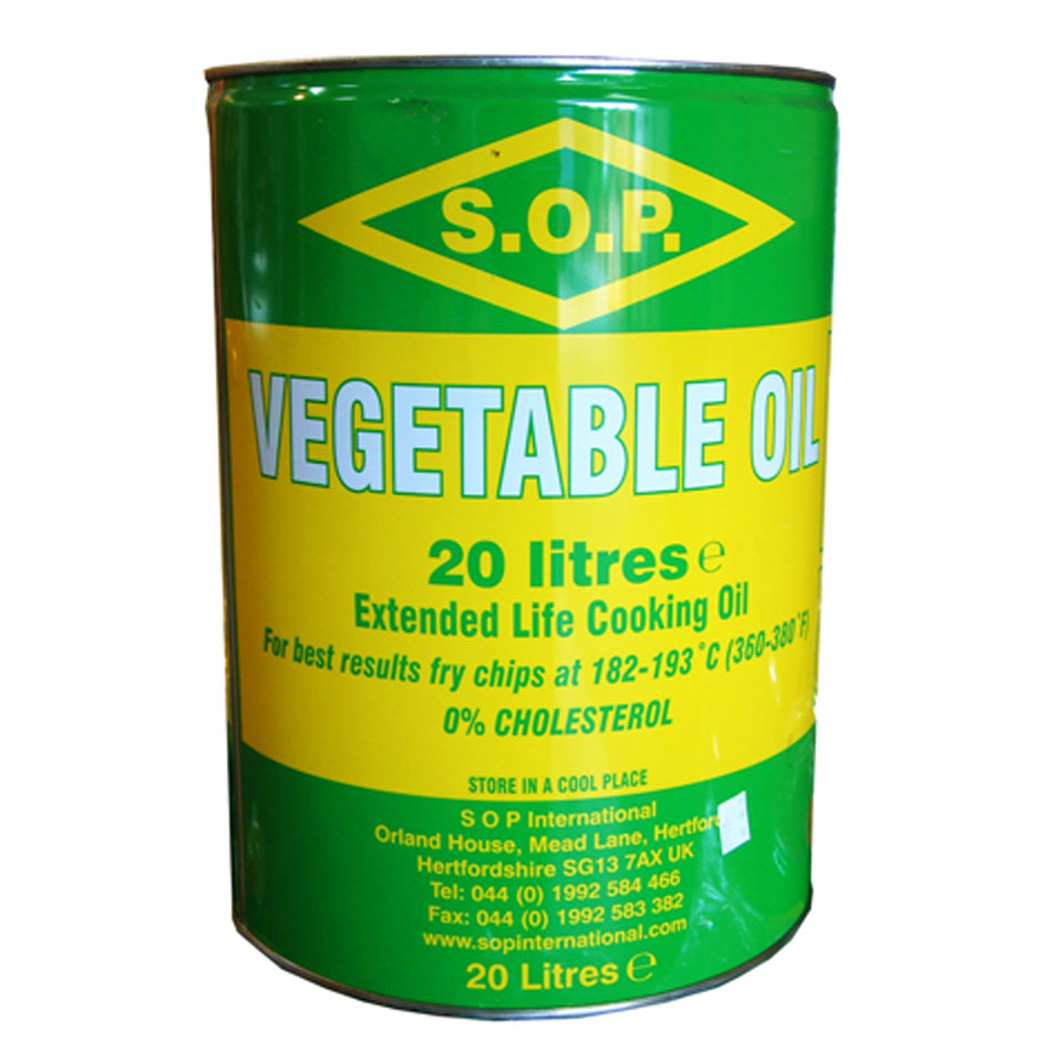 SOP Vegetable Oil (Tin)